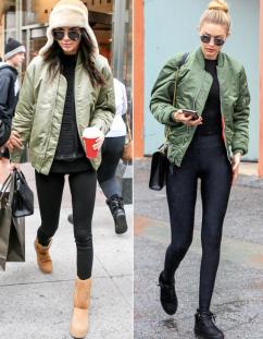 Kendall Jenner and Gigi Hadid