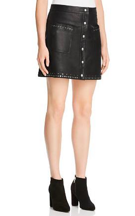 Rebecca Minkoff Leather Rockin' Skirt