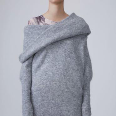 Acne studios Sweater Daze Mohair husky grey