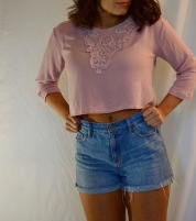 Top: Nordstrom Shorts: Old Navy