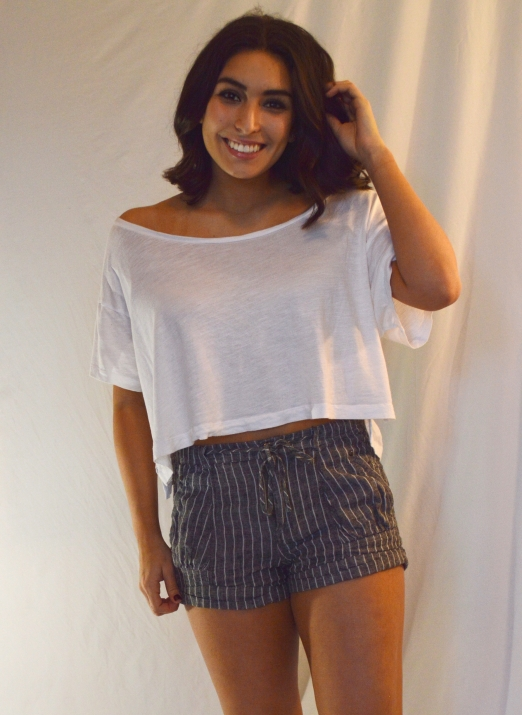 Shorts: Old Navy Top: PINK