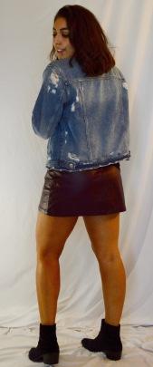 Skirt: Forever 21 Boots: Forever 21