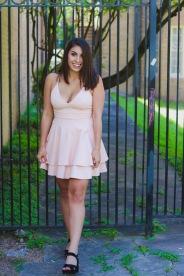 "Dress: Dainty Hooligan ""J'Adore Pink Dress"" Shoes:Target"