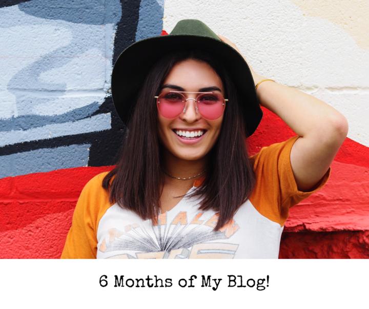 6 Months of MyBlog!
